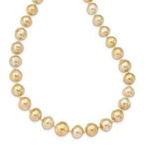 Jewelry - 14KY Gold Pearl Necklace